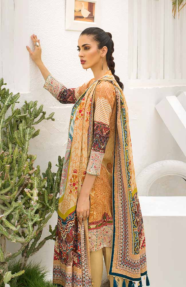 CL-06B Colors Printed Lawn'19