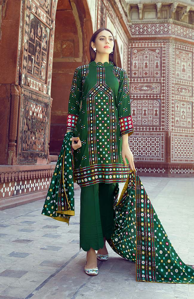 AN19L3 03A Anum Lawn Vol 3 2019