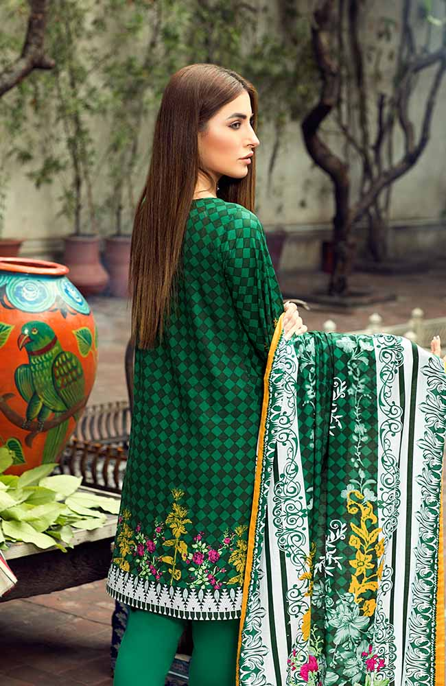AN19L 3A Anum Lawn Collection 2019