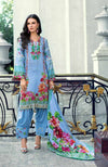 Monsoon Lawn Collection 2019 by ALZOHAIB - 3 Piece Printed Lawn Suit - 03C