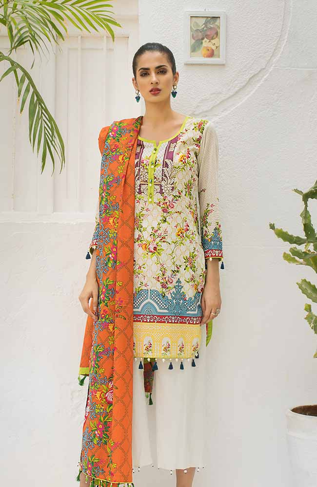 CL-02B Colors Printed Lawn'19