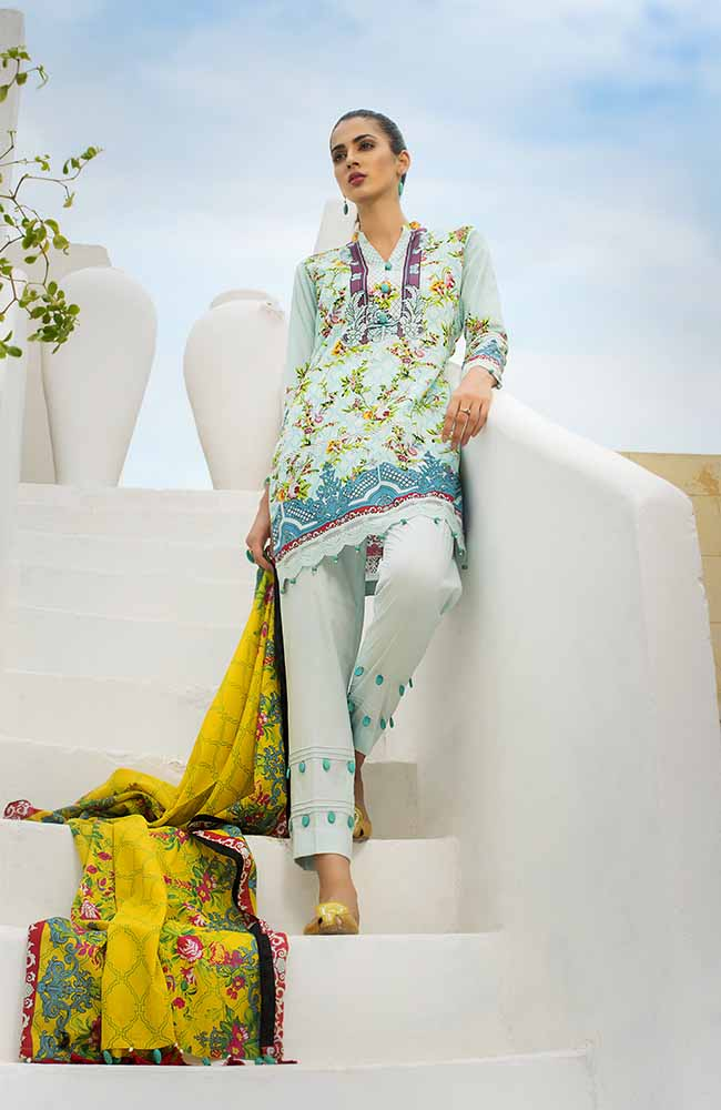 CL-02A Colors Printed Lawn'19