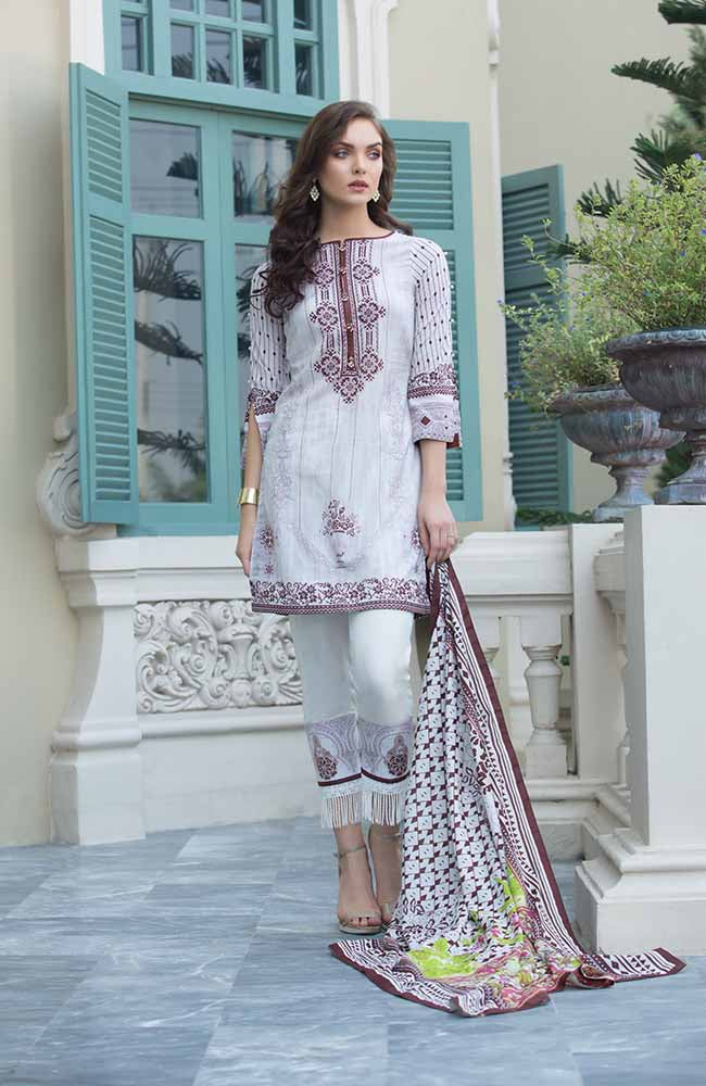 CL-09A Colors Printed Lawn'19