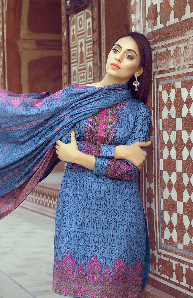 AN19L3 04C Anum Lawn Vol 3 2019
