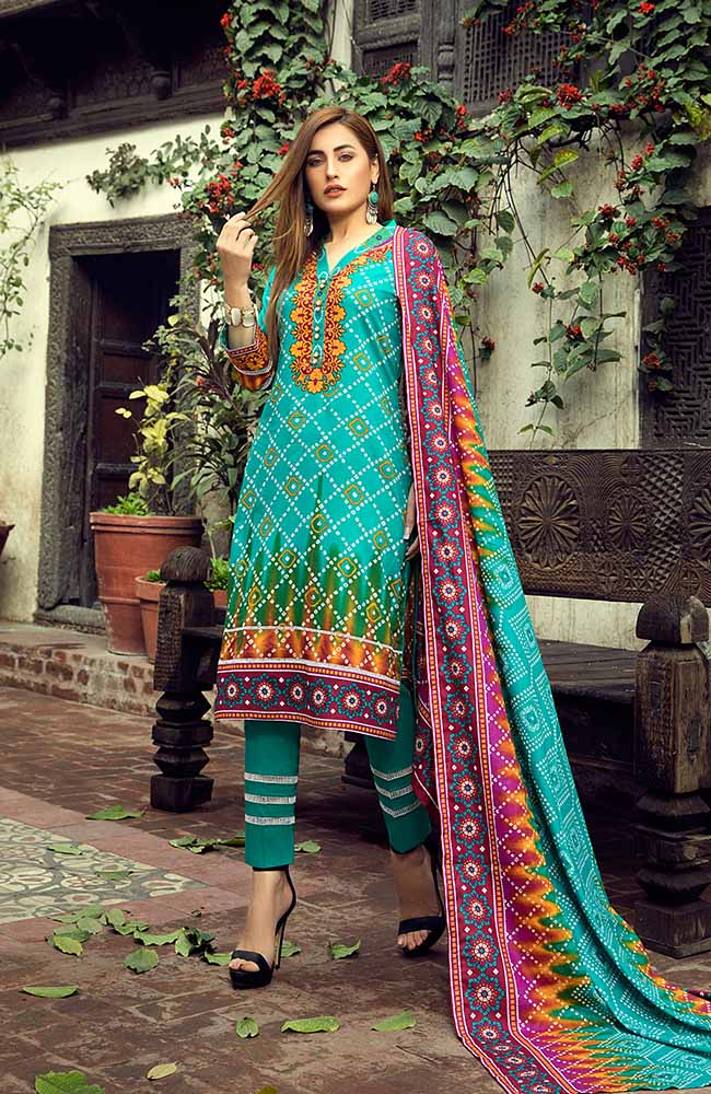 AN19L 4B Anum Lawn Collection 2019