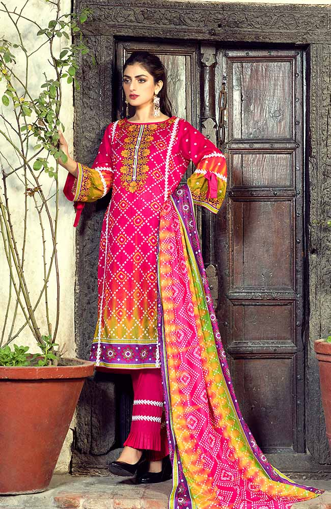AN19L 4C Anum Lawn Collection 2019