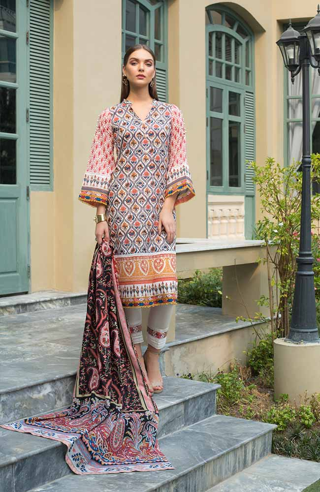 CL-11A Colors Printed Lawn'19