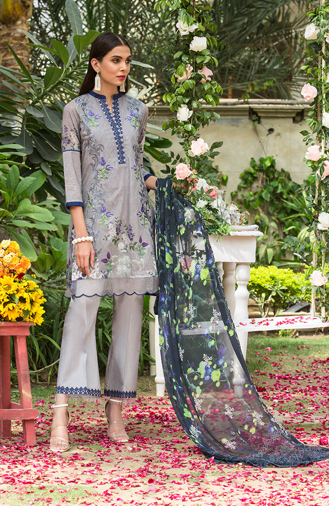 SA19L EMB-05B Summer Affair Embroidered