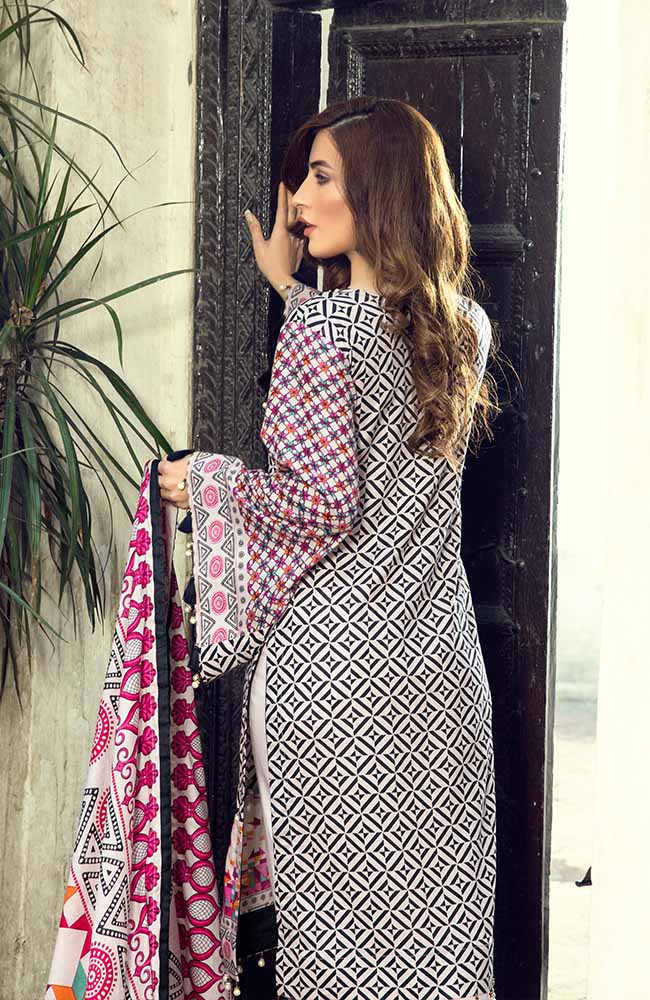 AN19L 5C Anum Lawn Collection 2019