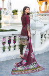 Monsoon Lawn Collection 2019 by ALZOHAIB - 3 Piece Printed Lawn Suit - 05C