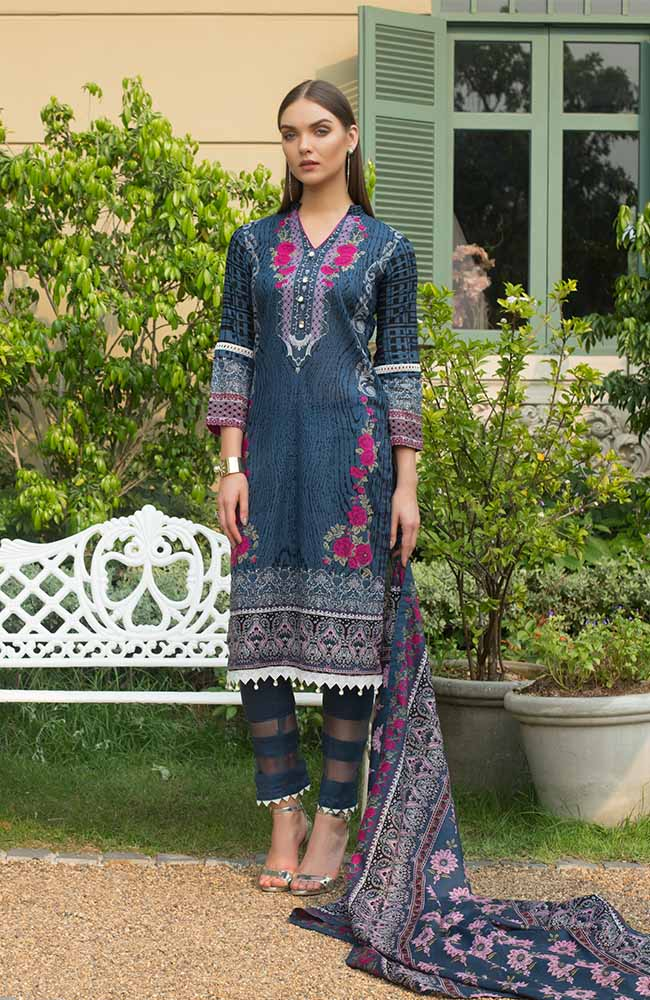 CL-10B Colors Printed Lawn'19