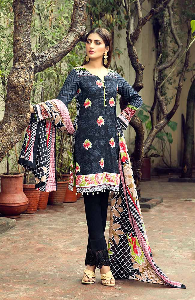 AN19L 6B Anum Lawn Collection 2019