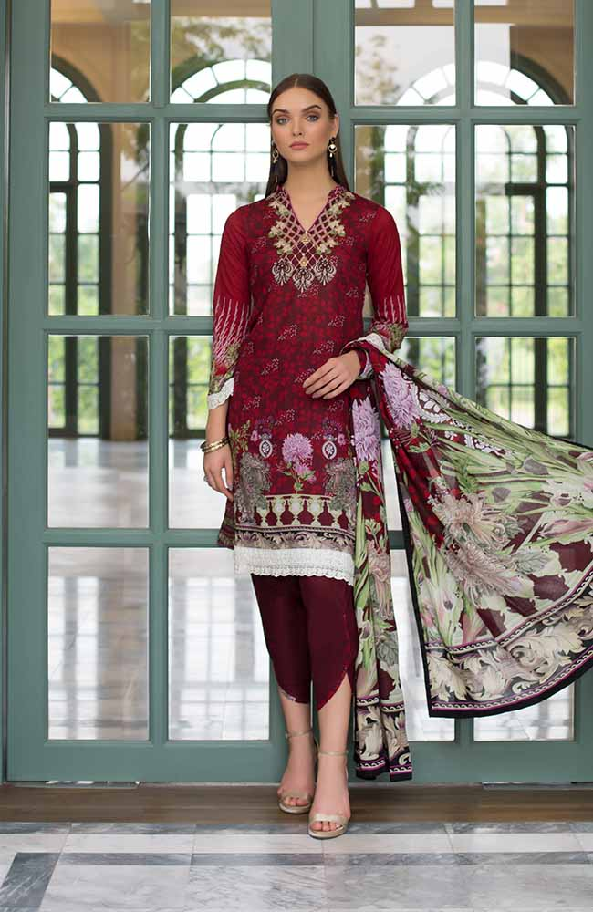 CL-14A Colors Printed Lawn'19