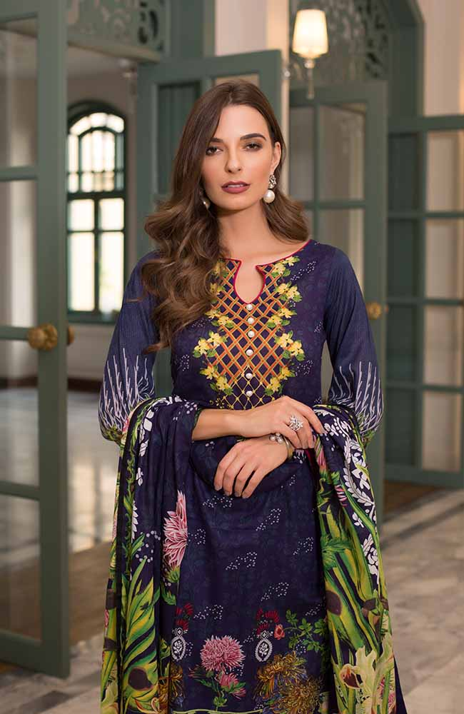CL-14B Colors Printed Lawn'19