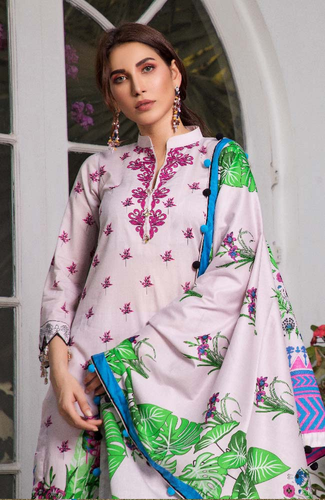 CL2-07A Colors Printed Lawn'19 Vol 2