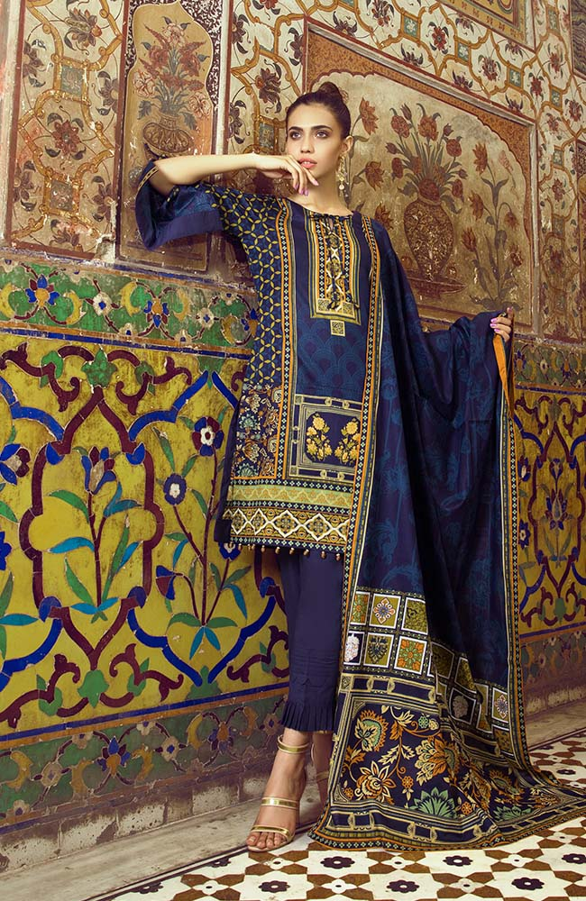 AN19L3 07B Anum Lawn Vol 3 2019
