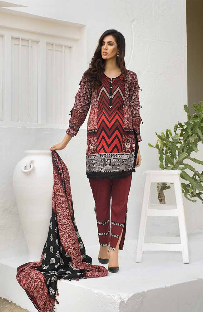 CL-01A Colors Printed Lawn'19