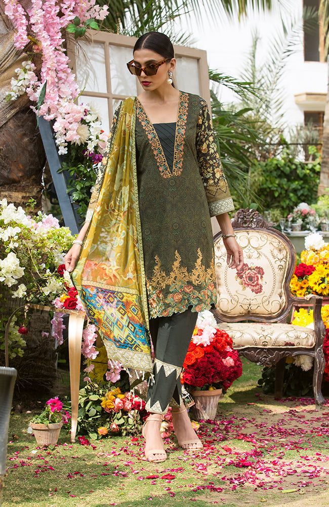 SA19L EMB-04B Summer Affair Embroidered