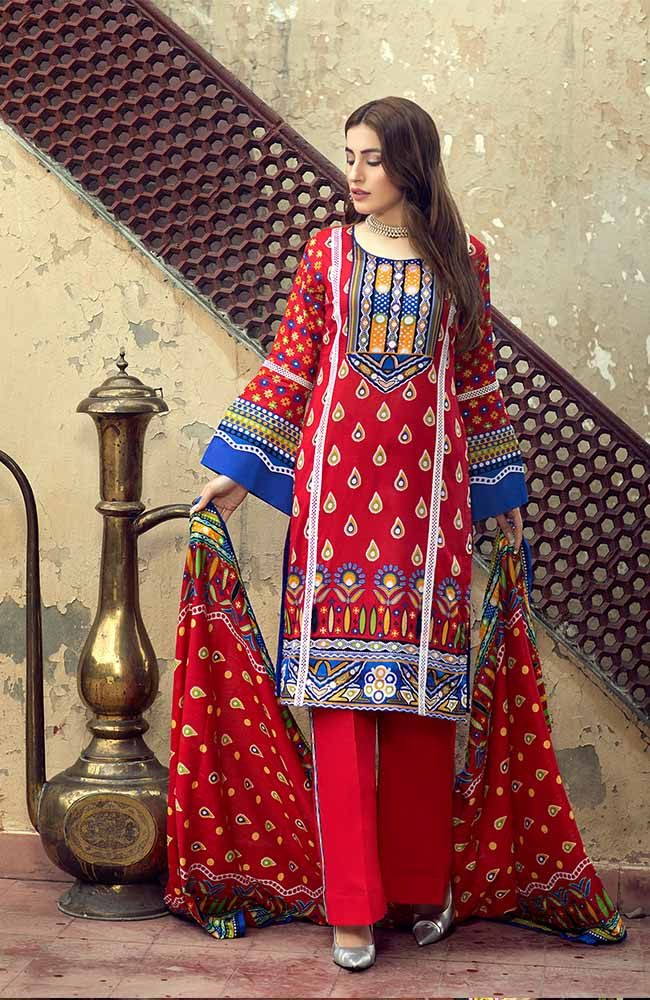 AN19L 7C Anum Lawn Collection 2019
