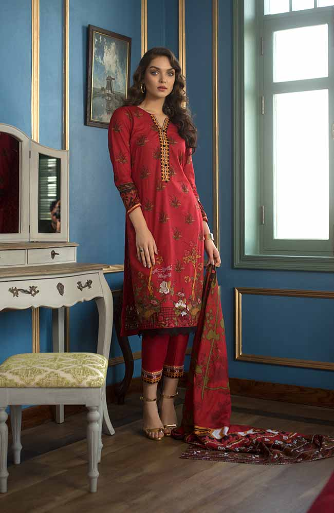 CL-15B Colors Printed Lawn'19
