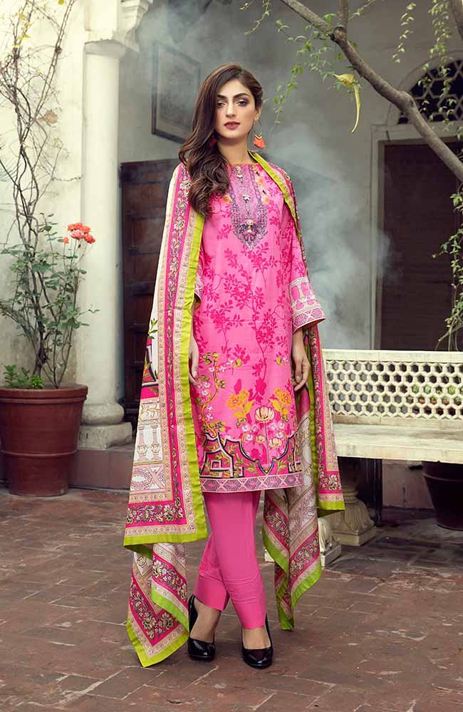 AN19L 8A Anum Lawn Collection 2019