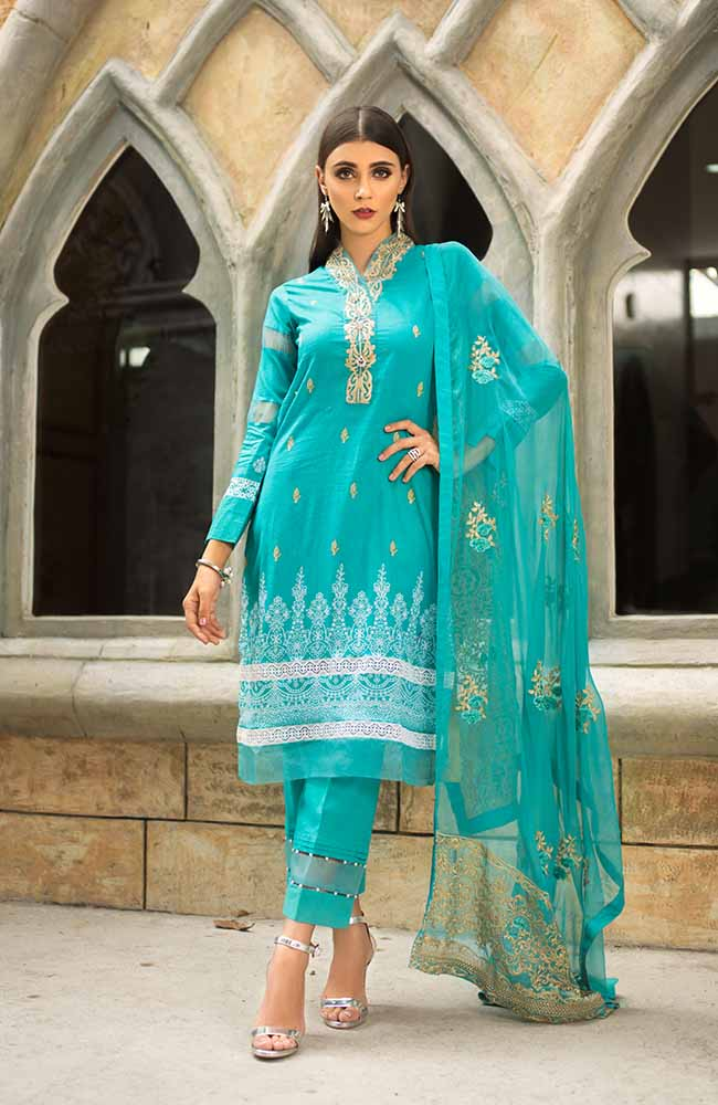 Summer Soiree Embroidered Collection 2019