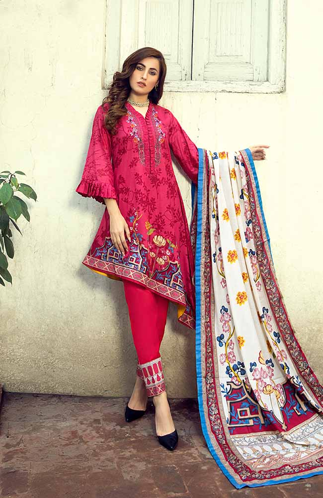 AN19L 8B Anum Lawn Collection 2019