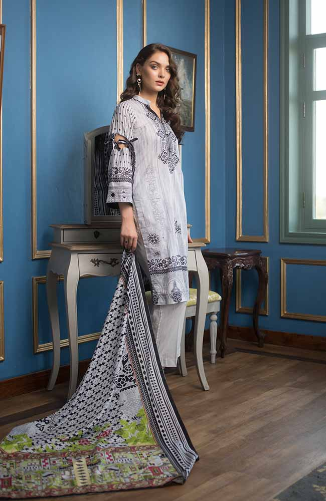 CL-09B Colors Printed Lawn'19