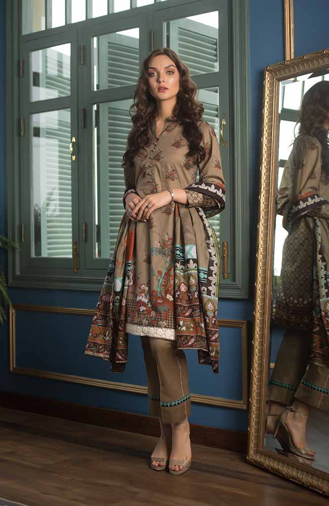 CL-15A Colors Printed Lawn'19