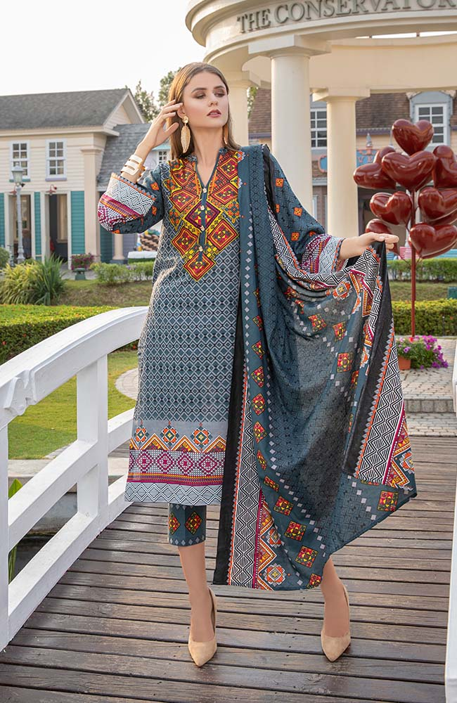 AN20L3 09A Anum Lawn Vol 3'20
