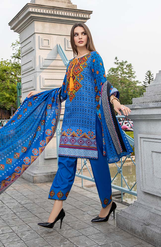 AN20L3 09B Anum Lawn Vol 3'20