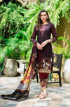 Monsoon Lawn Collection 2019 by ALZOHAIB - 3 Piece Printed Lawn Suit - 09A