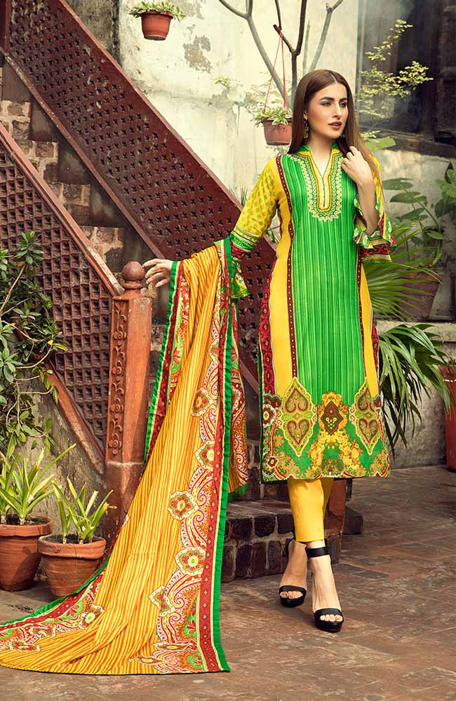 AN19L 9B Anum Lawn Collection 2019