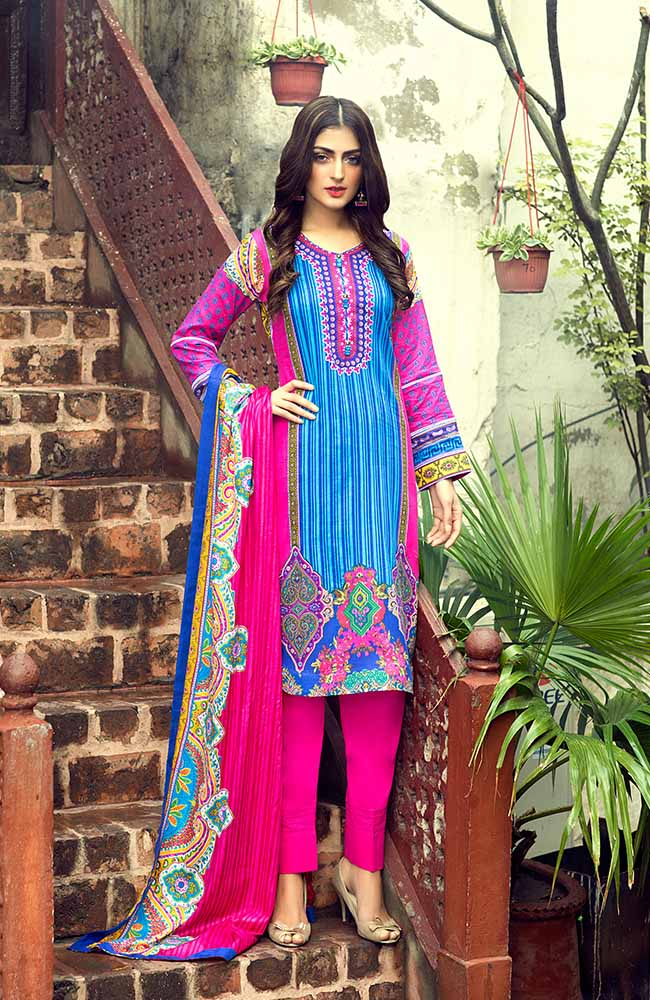 AN19L 9C Anum Lawn Collection 2019