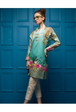 Tabassum Mughal Kurti Collection by ALZOHAIB - TM Basics Vol 2 Casa Romas
