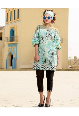 Tabassum Mughal Kurti Collection by ALZOHAIB - TM Basics Vol 2 Honey Comb