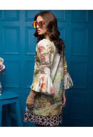Tabassum Mughal Kurti Collection by ALZOHAIB - TM Basics Vol 2 Secret Garden
