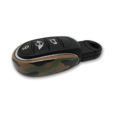 💪 Camo Metal Alloy Key Fob Case