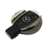 🏎️ AMG Silver/ Black Chrome Brake Caliper Mercedes Key Case *Keyless only*