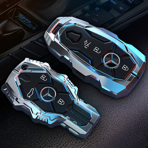 Mercedes Benz AMG Alloy Metal Key Case *Keyless*