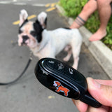 🐶 Bulldog Alloy Metal Key Fob Case