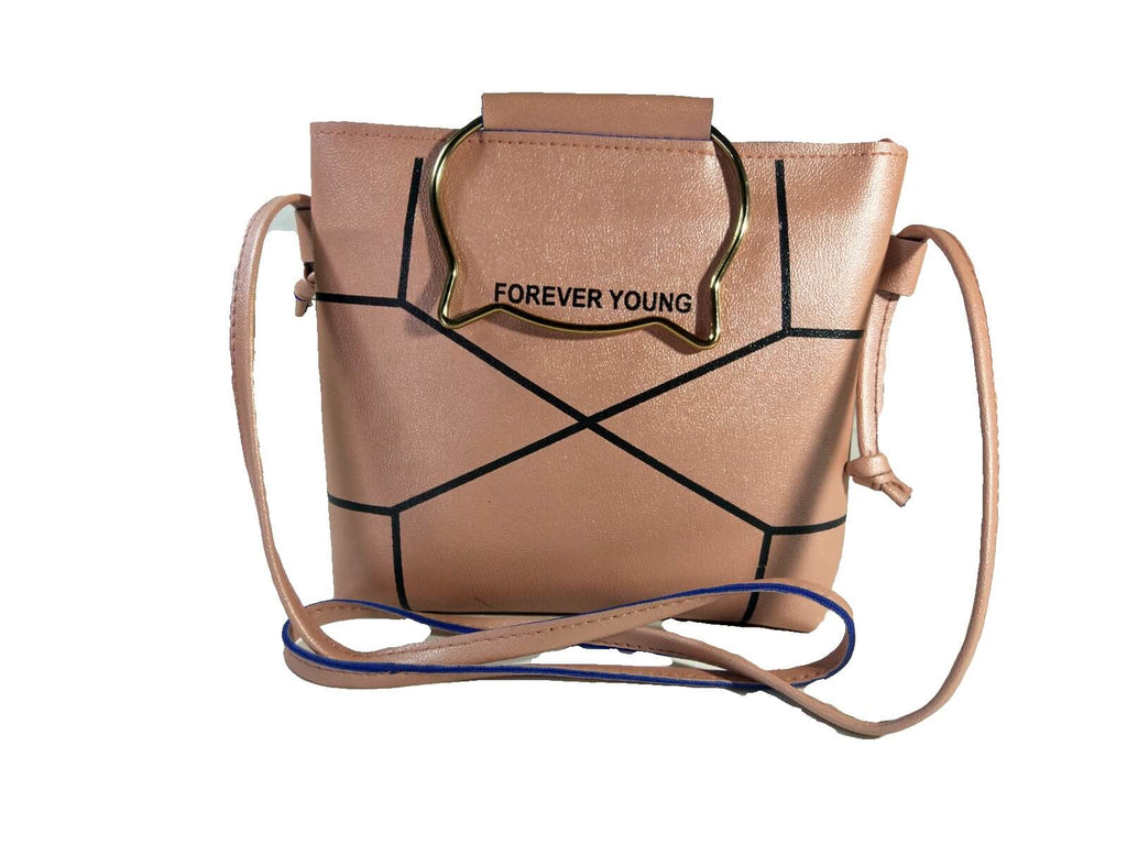 233abea132cf Elegant and Elite Sling Bag( Peach ) for Women and Girls By Own Classy