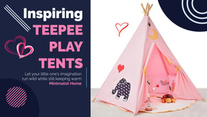 best deal teepee play tent montessori gift