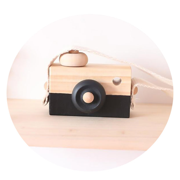 Handmade Wooden Handmade Camera Toy