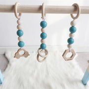 Handmade Wooden Baby Activity Gym