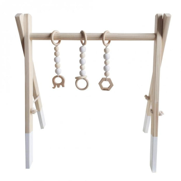 Handmade Wooden Baby Gym