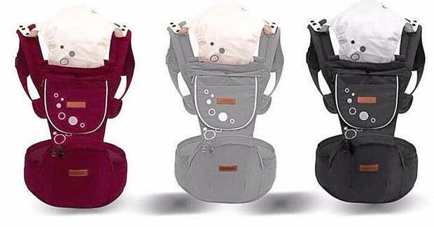 ergonomic design, removable hip seat and ultra wide baby carrier