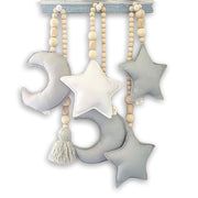 Non-toxic Wooden Nursery Decor Hanging Pendant
