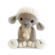 Baby Toy Wool Knitted Stuffed Sheep