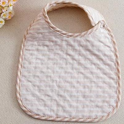 Organic Cotton Quilted Baby Bibs, 3-Pack